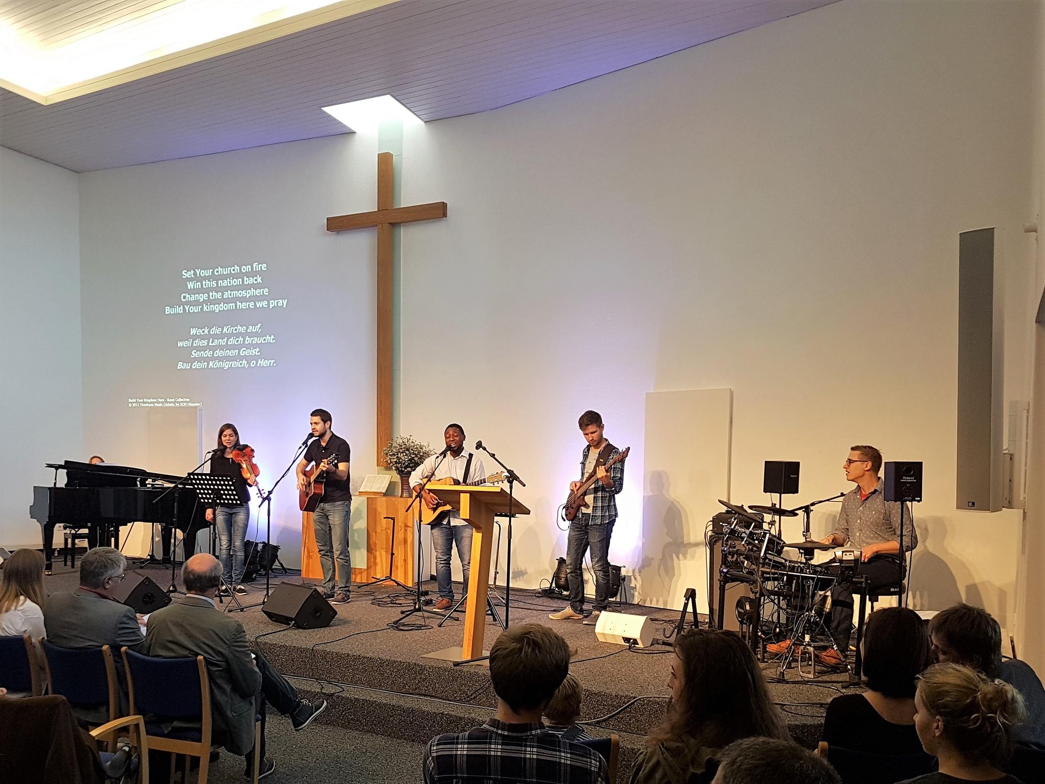 Gottesdienst der Kreuzkirche Tübingen